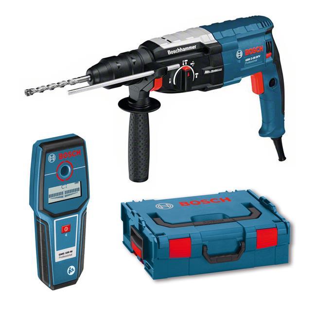 Bosch-Bohrhammer-GBH-2-28-DFV-inkl-L-Boxx-Leitungssucher-GMS-100