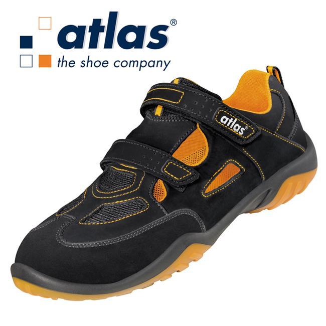 atlas sicherheitsschuhe sn 52 orange s1 42700 sneaker arbeitsschuh ebay. Black Bedroom Furniture Sets. Home Design Ideas